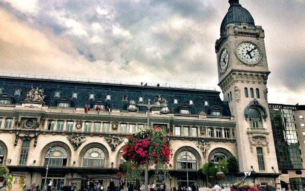 Лионский вокзал Париж